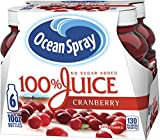 Ocean Spray 100% Cranberry Juice, 10 Ounce (pack of 6)