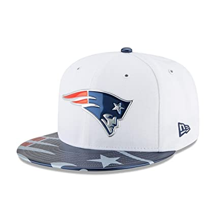 3c46d3578661f New Era Mujeres Gorras   Gorra plana NFL Offical On Stage New England  Patriots