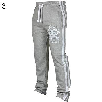 Nordira - Pantalones de Yoga para Hombre, Gris Claro, Extra ...