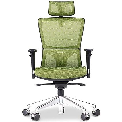 Sillas de oficina con soporte para brazos y espalda, silla de ...