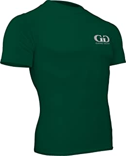product image for Game Gear HT-603S-CB Men's and Women's Compression Fitness Short Sleeve Crew Neck Shirt