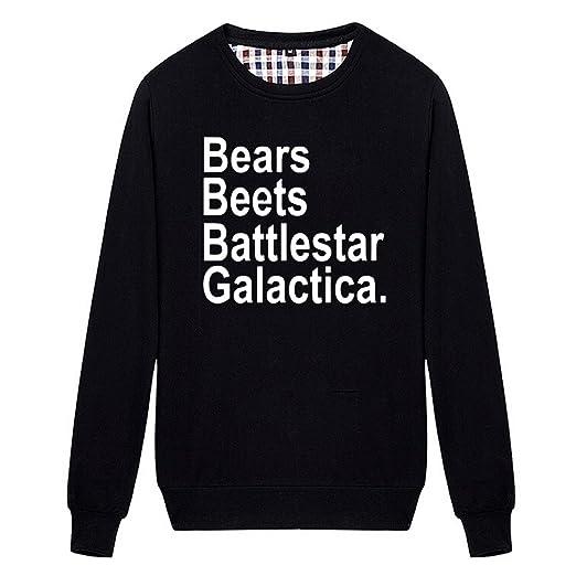 Chimpanzee Bears Beets Battlestar Galactica Sweatshirt At Amazon