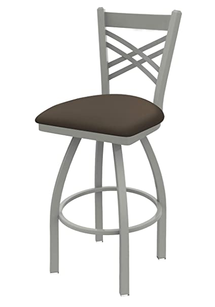 Swell 820 Catalina 25 Swivel Counter Stool With Anodized Nickel Finish And Canter Earth Seat Lamtechconsult Wood Chair Design Ideas Lamtechconsultcom