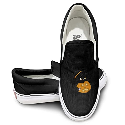 Halloween Cat Mens Wowens Casual Loafers Classic Driving Boat Shoes