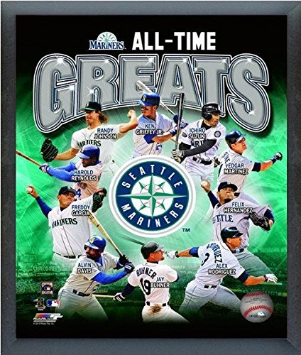 - Seattle Mariners MLB All Time Greats Composite Photo (Size: 12