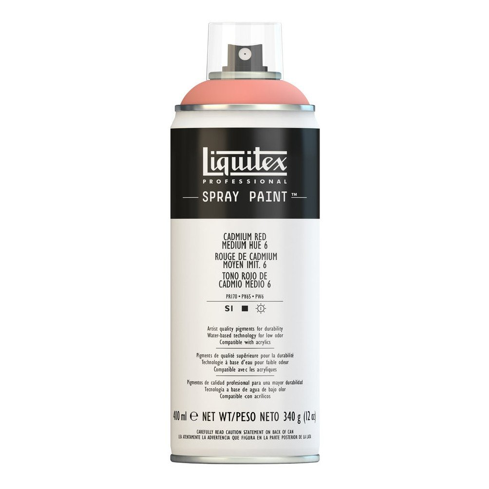 Liquitex プロフェッショナル スプレーペイント 12オンス 400ml Can レッド 4456151 B008N7HFFK Cadmium Red/ Medium Hue 6 Cadmium Red/ Medium Hue 6