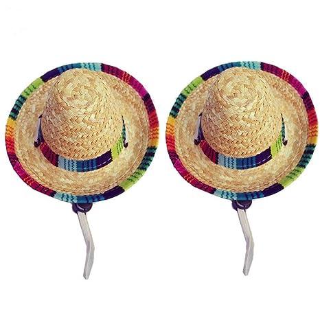 Wankd Sombrero para Perro, Sombrero de Paja, Sombreros ...