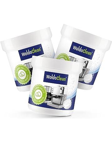 woldo Clean pastillas de limpieza para cafeteras automáticas y cafeteras – Pastillas para limpieza
