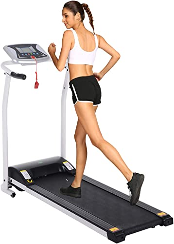 ncient Folding Electric Treadmill Running Machine Jogging Walking Fitness Exercise Machine