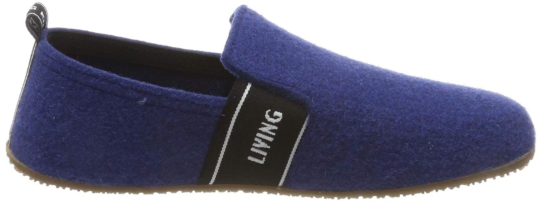 Pantofole a Collo Basso Bambino Living Kitzb/ühel T-Modell mit Living Kitzb/ã/¼Hel-Schriftzug