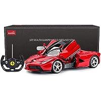 RASTAR RC Car   1/14 Scale Ferrari LaFerrari Radio Remote Control R/C Toy Car Model Vehicle for Boys Kids, Red, 13.3 x 5…