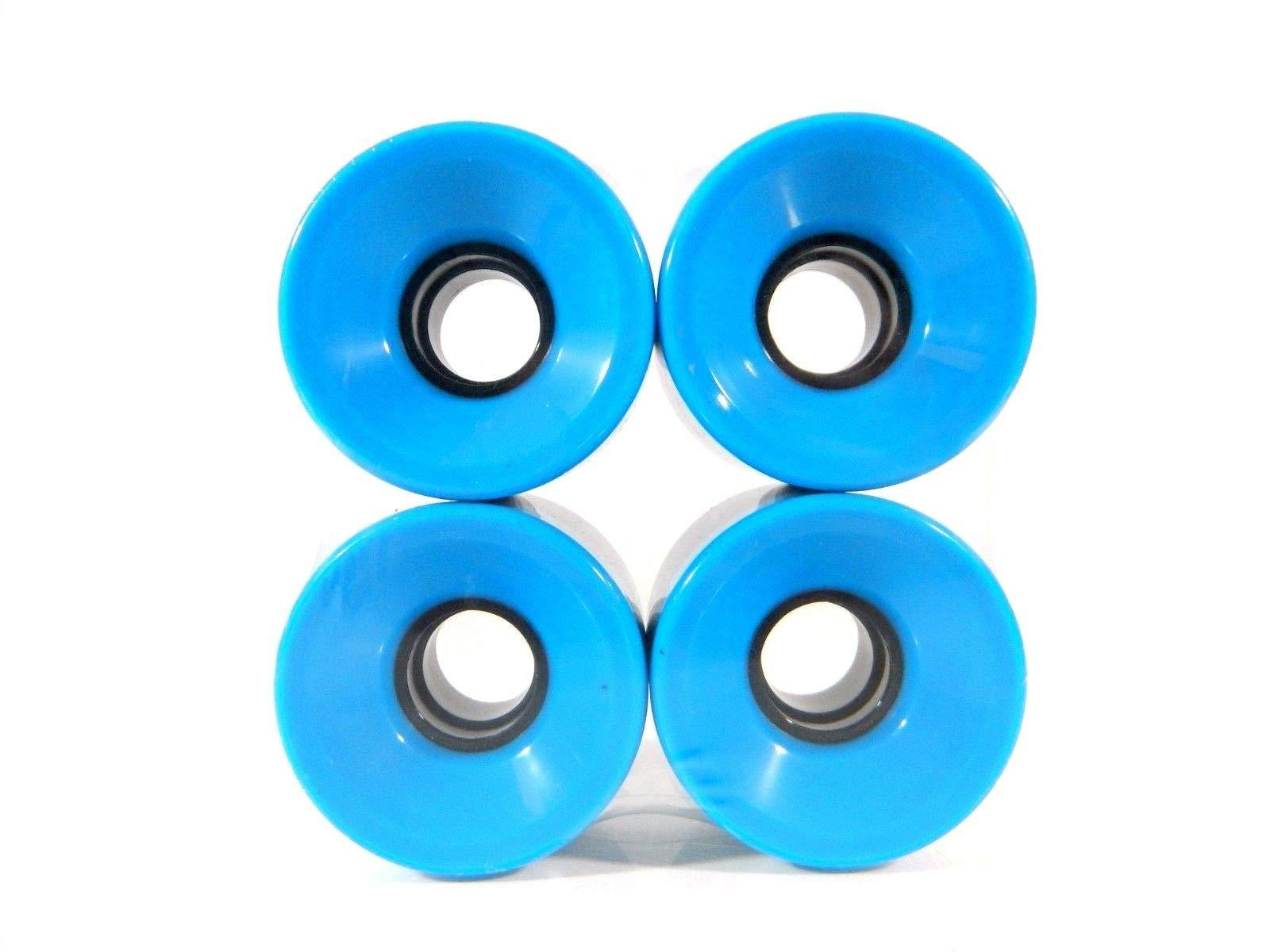 Good Skateboard Light Blue Blank Pro 60Mm X 44Mm Longboard Cruiser Wheels New Sealed