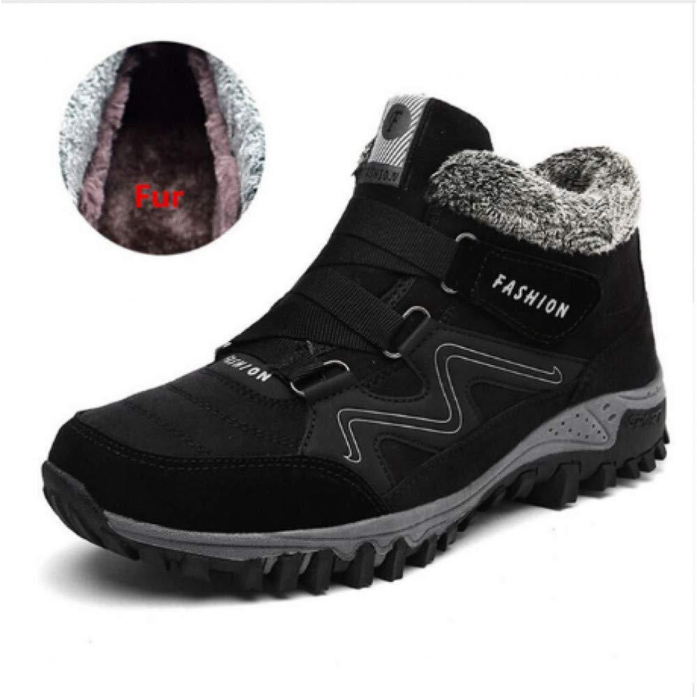 FHCGMX 39-46 Schuhe Warme Winter Männer Männer Männer Stiefel Anti-rutsch Winter Stiefel Männer Große Größe Hohe Qualität 81ef87