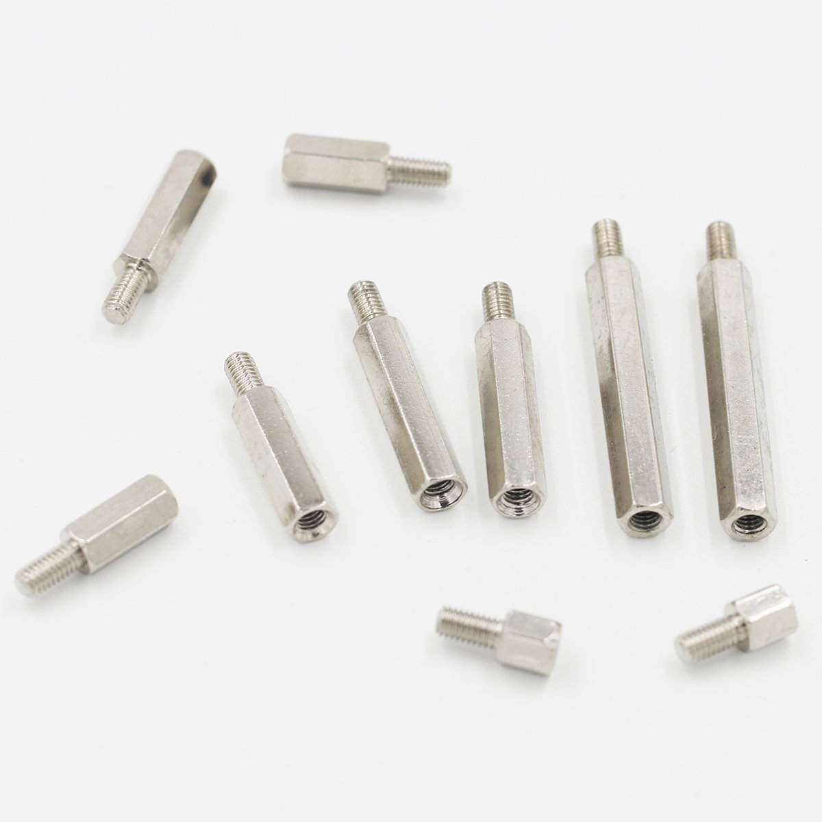 Brass Spacer Standoff Screwnut Assortment Kit 116pc Gold 120pcs M3 Copper Silver Pillars Circuit Board Pcb Nut Home Improvement