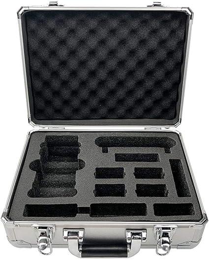 Aluminium Metal 6 TF Card Memory Card Protective Hard Carry Case Holder Gold
