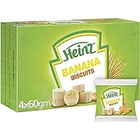 Heinz Baby Banana Biscuits, multipack, 240g