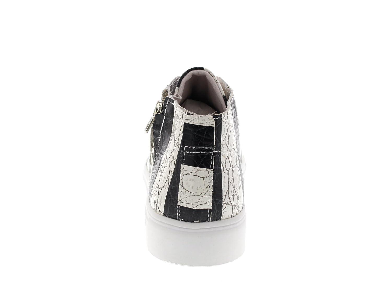 Schwarzstone Damenschuhe - Turnschuhe NL43 NL43 Turnschuhe - Stripes schwarz c12e92