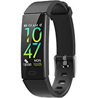 ZURURU Fitness Tracker with Blood Pressure Heart Rate Sleep Health Monitor for Men and Women, IP68 Waterproof 11 Sport…