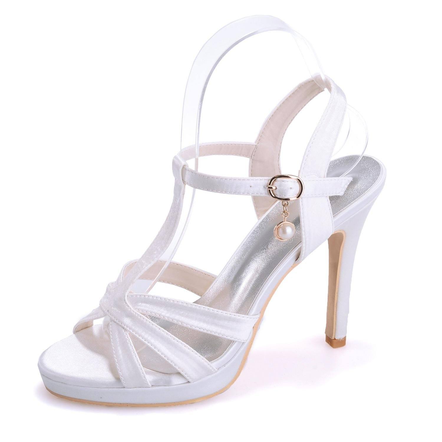 Elegant High shoes5915-19 Tacchi Alti da Donna da Donna/Casual Party Office E Carriera con, Champagne, 37