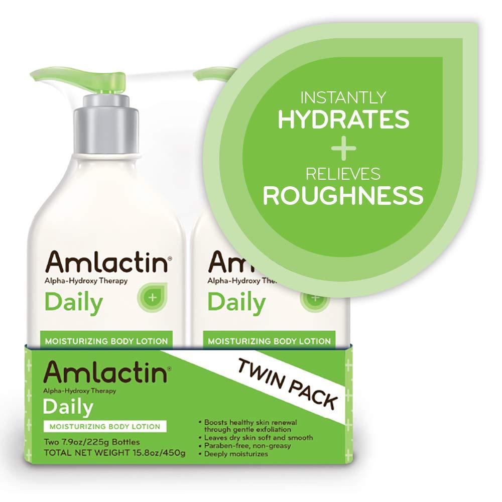 AmLactin Daily Moisturizing Body Lotion Twin Pack, (2) 7.9 Ounce Bottles, Paraben Free by AmLactin (Image #5)