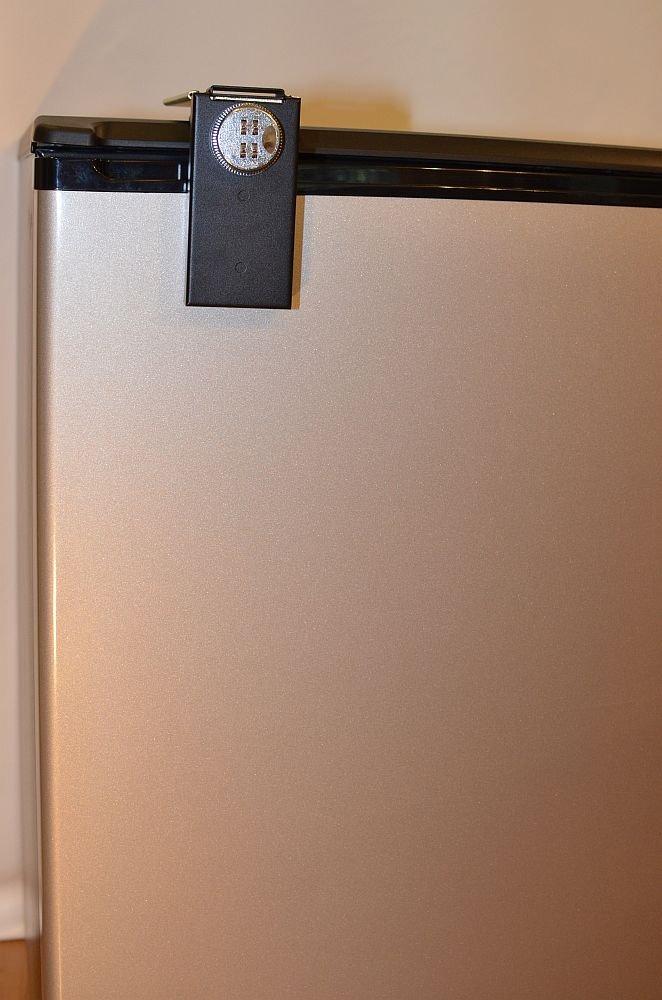Refrigerator Lock, Black, Combination