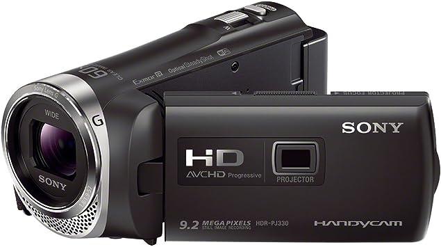 Sony Handycam HDR-PJ330E - Videocámara de 2.3 Mp (pantalla de 2.7 ...