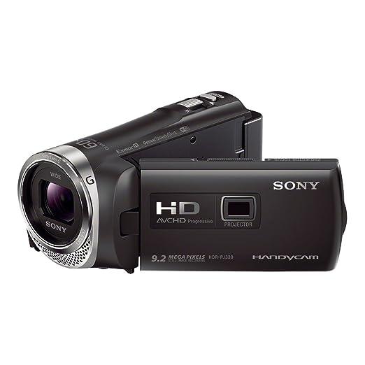 16 opinioni per Sony HDR-PJ330E Handycam con proiettore integrato, Nero
