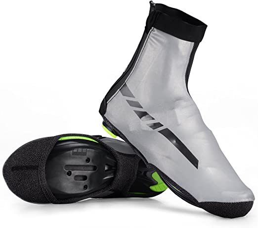 Cycling Shoe Cover Reflective Waterproof Windproof Warm Shoe Covers