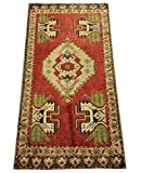 Handmade Turkish doormat handwoven bath mat small rug Boho rug Turkish rug welcome mat bathroom rug 3,3x1,6 feet