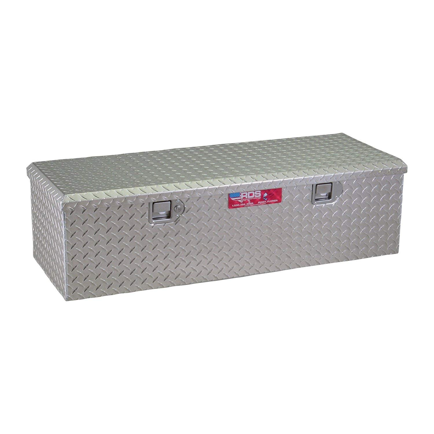 60in Aluminum Diamond Plate Storage Container Box with Lock