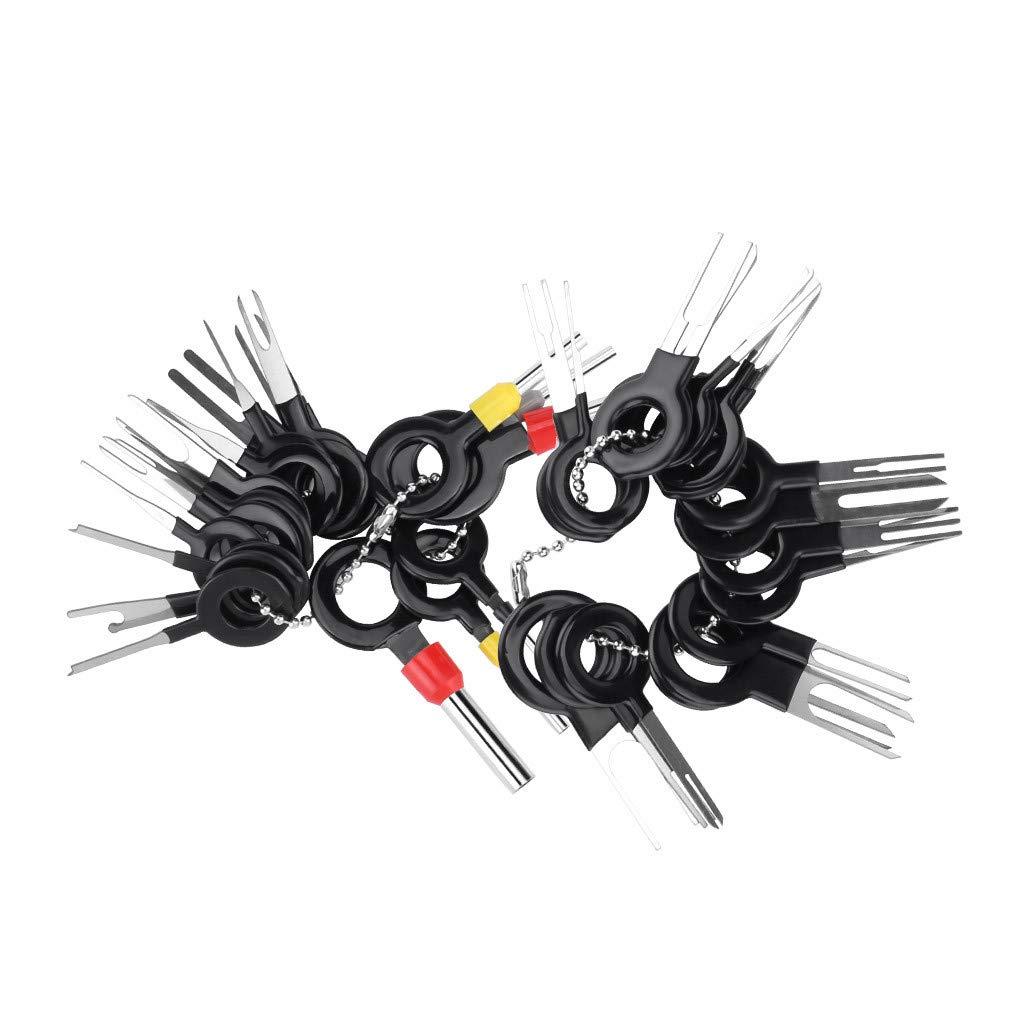 36 Pcs Auto Terminals Enl/èvement Outil Set Pin Extractor Outil pour R/éparation De La Voiture Voiture /Électrique C/âblage /À Sertir Connecteur Pin Extracteur Kit MerryDate