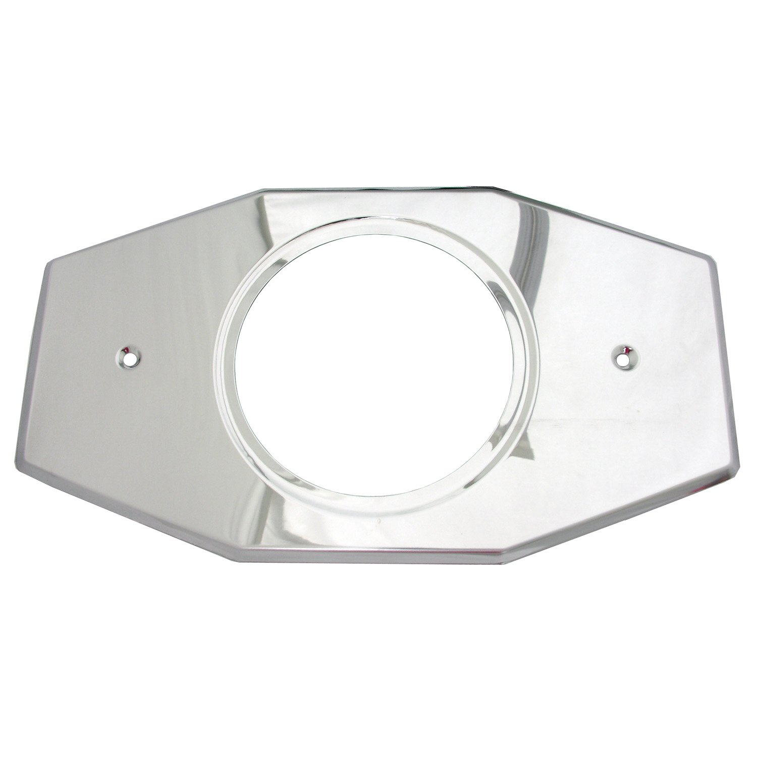 Simpatico 31657C Stainless Steel, Remodel Plate Fits Single Handle Delta or Moen Valves, Chrome Plated