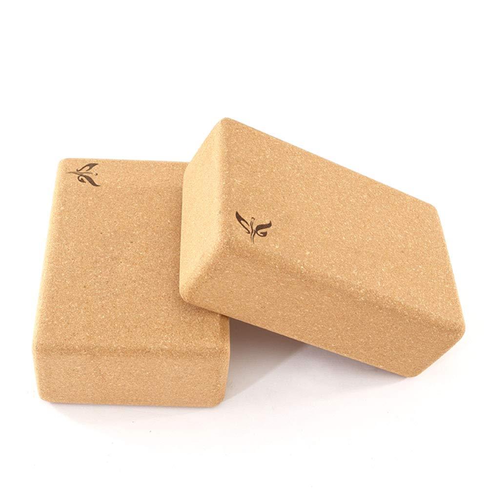 Amazon.com: WENMIN Cork Yoga Brick, Yoga Blocks Help ...
