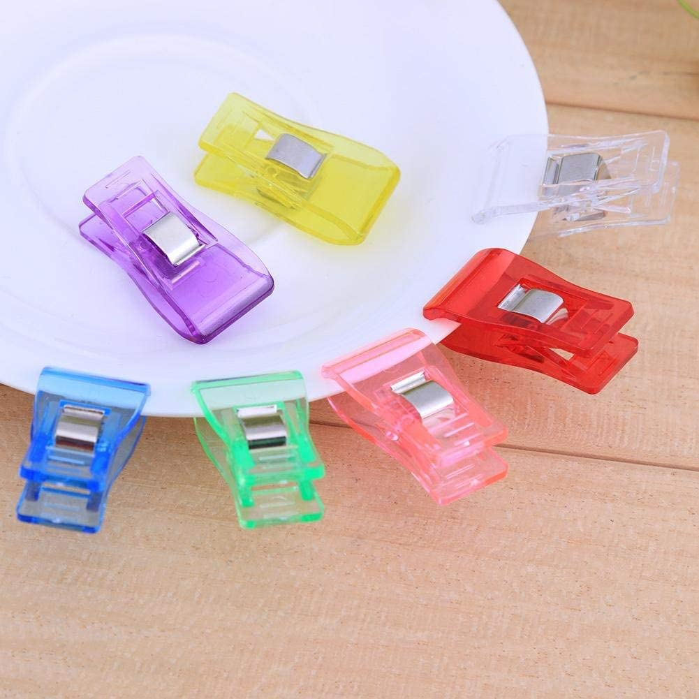 100 Multicolored,20pcs//50pcs//100pcs -Sewing Clips for Qui lting and Crafts Clips Mixed Color