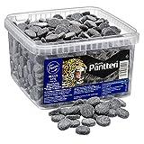 Fazer Pantteri Musta ('Panther' Black) Salmiak Salty Licorice Wine Gums Candy in Bulk 200g (7,05oz)