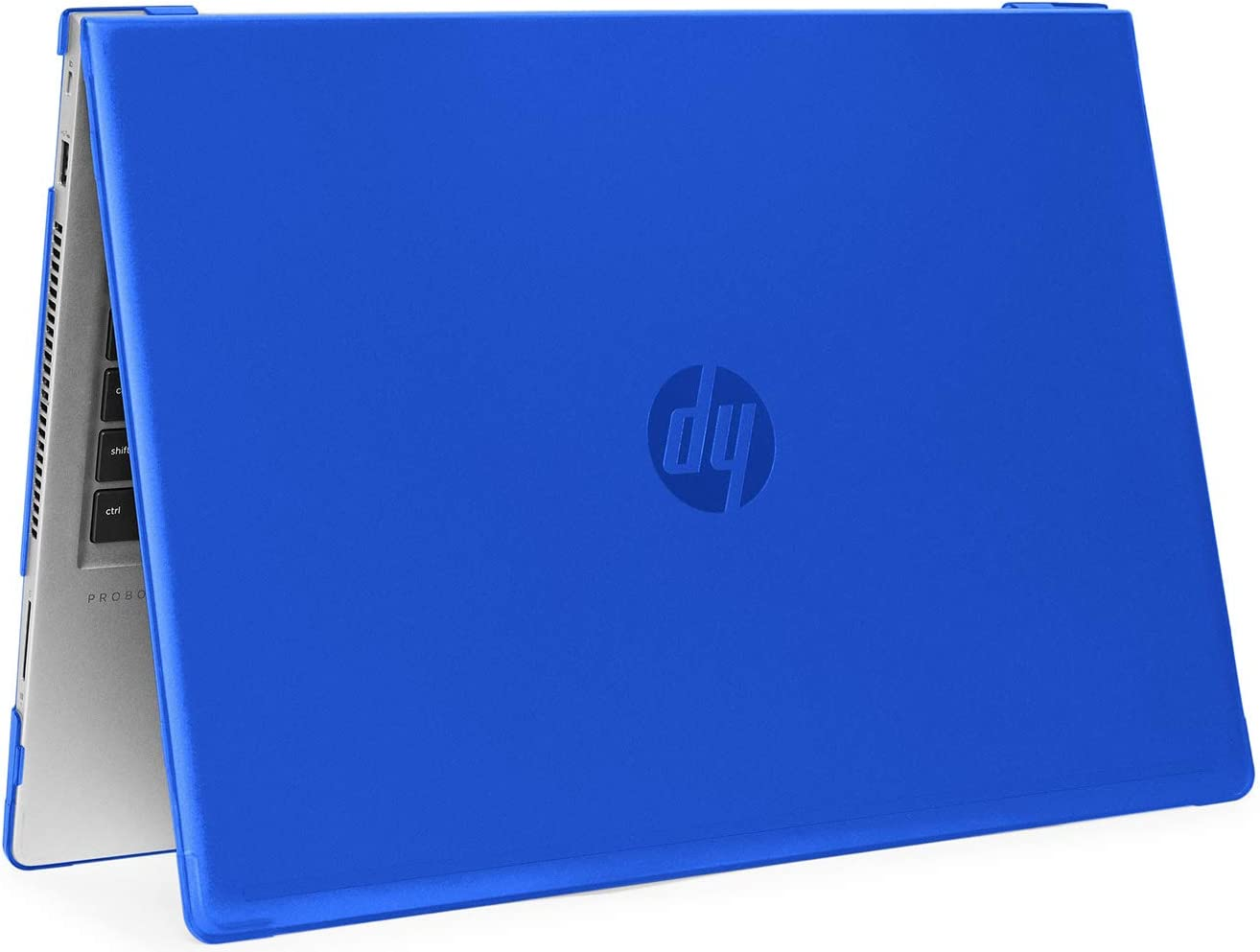 "mCover Hard Shell Case for 2019 15.6"" HP ProBook 450/455 G6 Series (NOT Compatible with Older HP ProBook 450/455 G1 / G2 / G3 / G4 / G5 Series) Notebook PC (PB450-G6 Blue)"