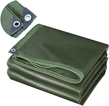 ZAQI Lona Lona de Lona para Patio/pérgola/Tienda de campaña/Camping, Lonas Impermeables Grandes y Verdes Resistentes con Anillos, 0.7 mm de Espesor, 700 g (Size : 3M×6M): Amazon.es: Hogar