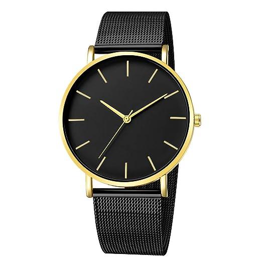 Modaworld Relojes Pulsera Hombre, Moda Reloj de Cuarzo analógico Deportivo de Acero Inoxidable para Hombres Sports Deportivos reloje Unisex: Amazon.es: ...