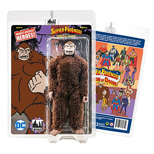Super Friends Retro Action Figures Series: Gorilla Grodd (Retro Action Figures)