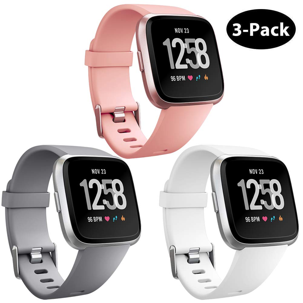 Mallas Reloj Fitbit Versa Y Fitbit Versa Lite (3 Un.)talle S