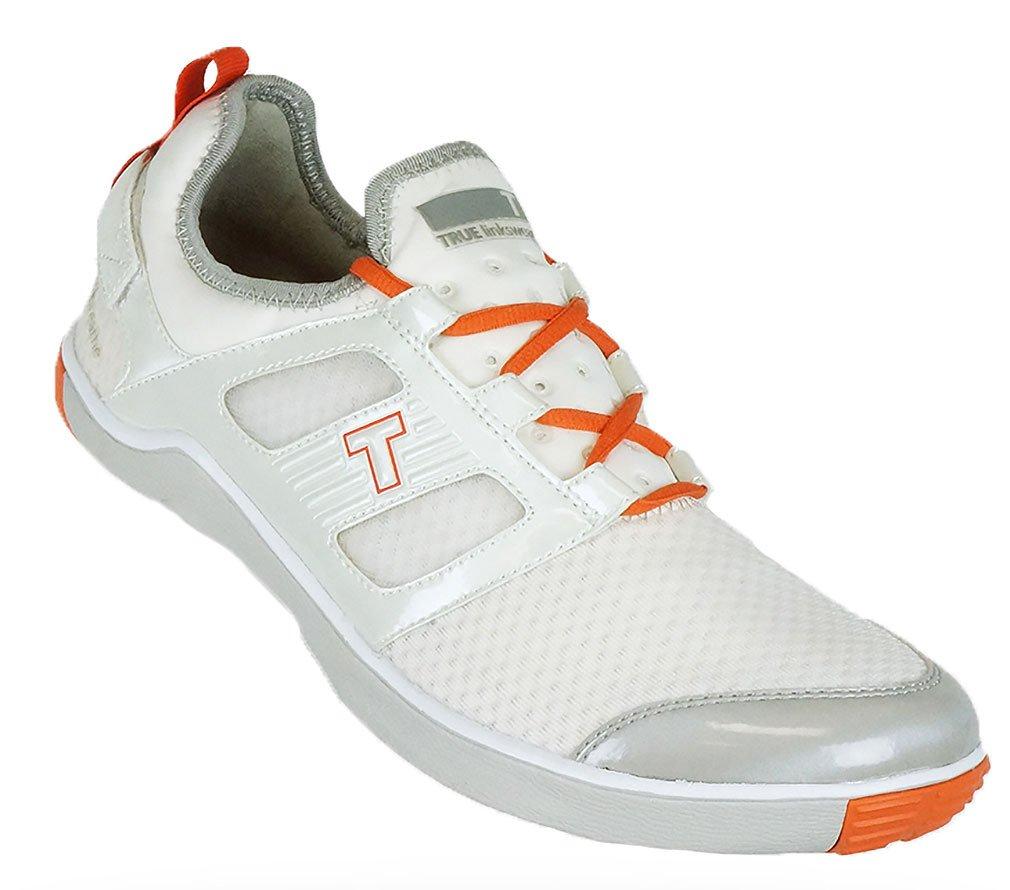 True Linkswear 2014 Lyt Breathe Golf Shoes White-Salmon 8 Medium Lyt Breathe LB1-0006