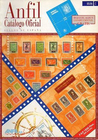 CATÁLOGO OFICIAL DE SELLOS DE ESPAÑA. 95/96.: Amazon.es: Anfil.: Libros