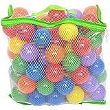 100 Wonder Playball Non-Toxic Crush Proof Quality Balls w/ Mesh Tote
