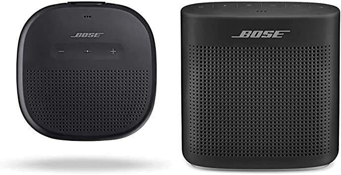 Amazon Com Bose Soundlink Micro Portable Outdoor Speaker Wireless Bluetooth Connectivity Black Soundlink Color Bluetooth Speaker Ii Soft Black Electronics