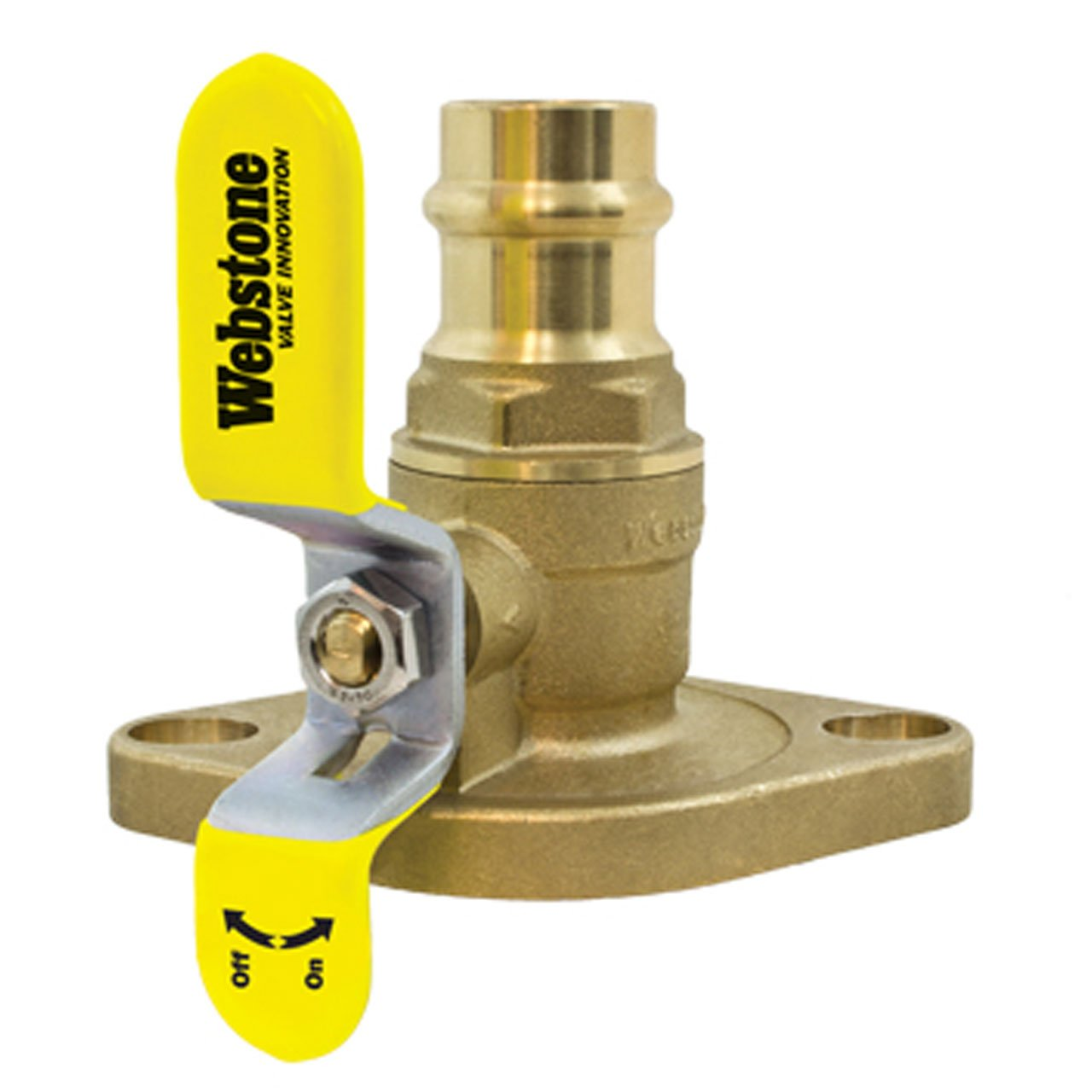 Webstone 81406HV Full Port 1 1/2-Inch Press x Flange Isolator with Rotating Flange