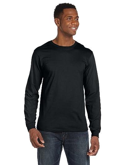 7a82a2878 Amazon.com  Anvil 949 Ringspun Cotton Long-Sleeve Fashion-Fit T ...