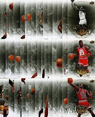 Upper Deck lot of (50) Rare 09 UD Michael Jordan Legacy G...