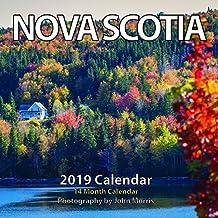 """2019 Nova Scotia Monthly Wall Calendar 6.5""""x6.5"""""""
