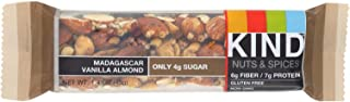 product image for KIND Nuts & Spices, Madagascar Vanilla Almond, 12 Bars