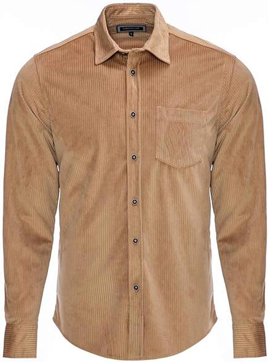 Carisma CRM8477 - Camisa de pana para hombre, 2 colores: Amazon.es: Ropa y accesorios